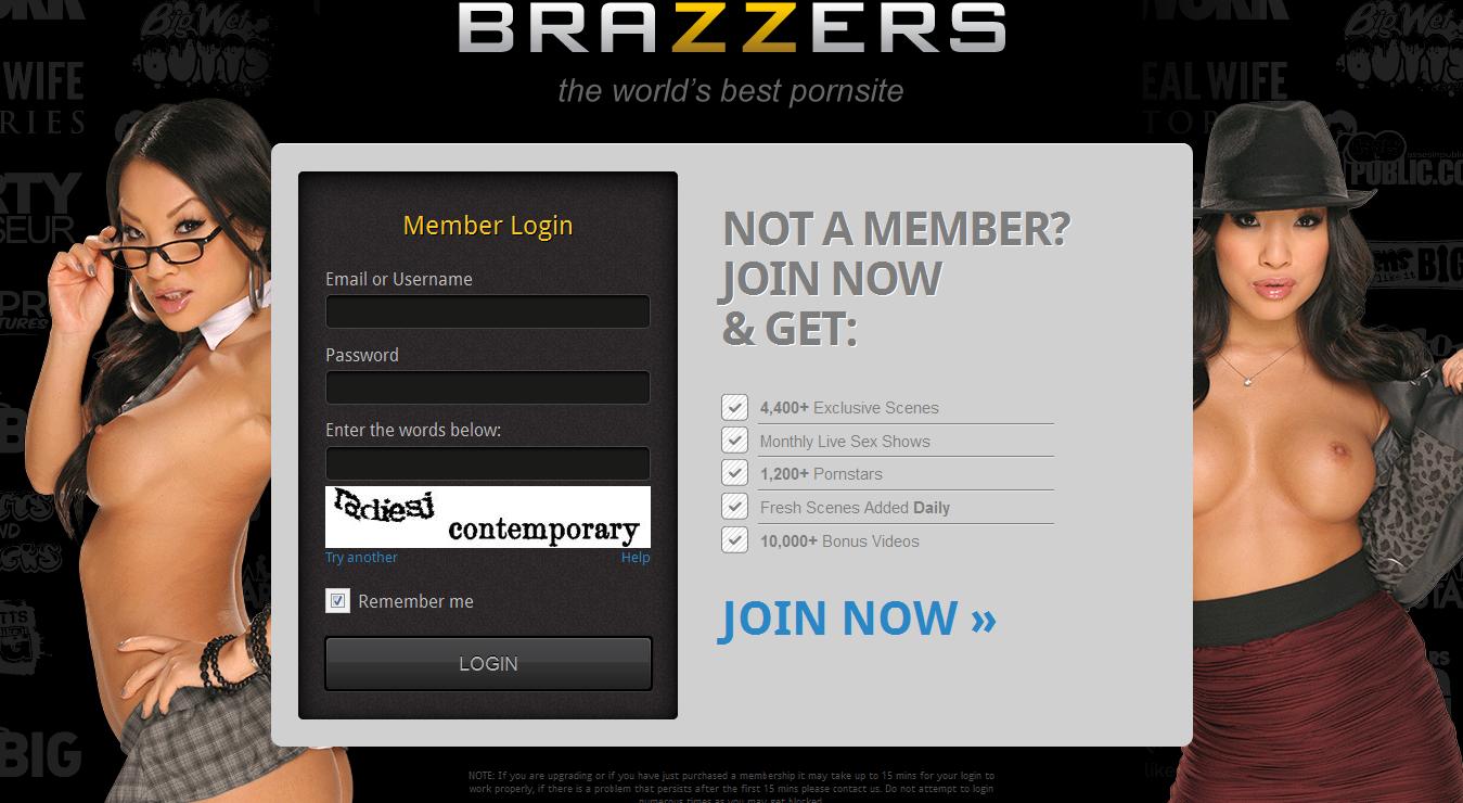 Brazzers member login